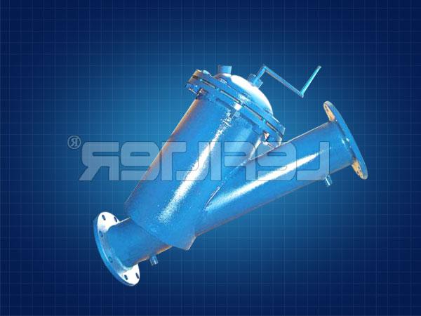 LFZT-150手摇刷式过滤器