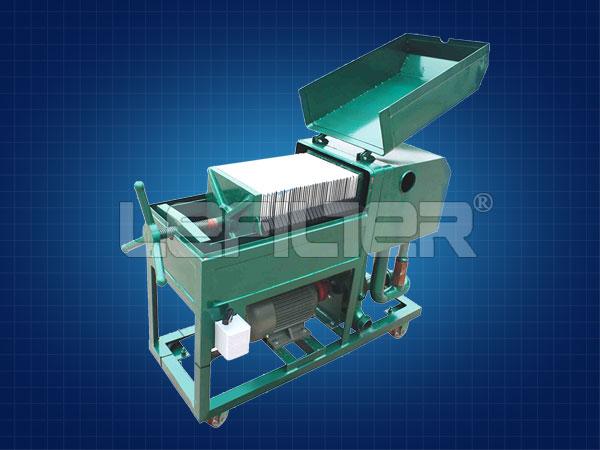 LY板框压力式滤油机