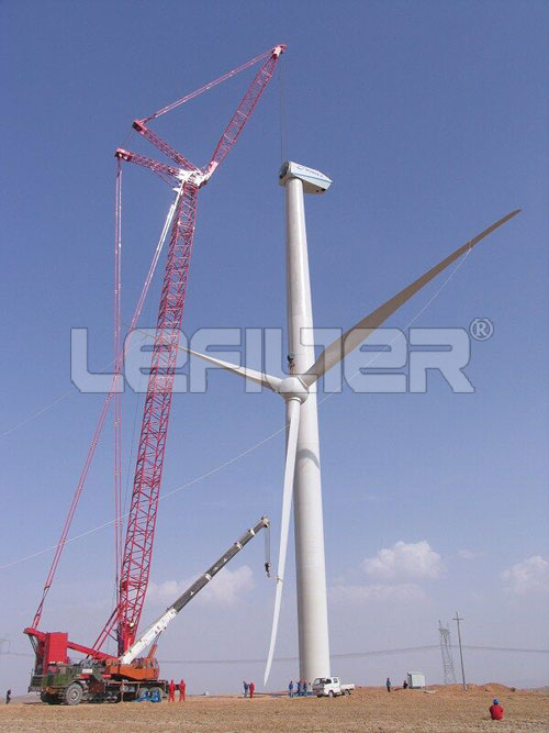 滤芯在风电行业的运用