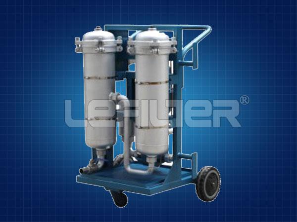 加油车移动式高精度小型防爆滤油机LYC-63B
