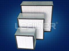 影响高效空气过滤器设备过滤效率的3大原因(材料,漏风,风速)
