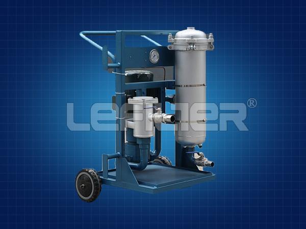 LYC-100B三级高精度滤油机手推车滤油机