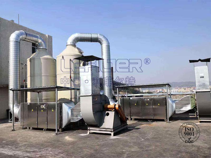 医药厂废气处理催化燃烧设备