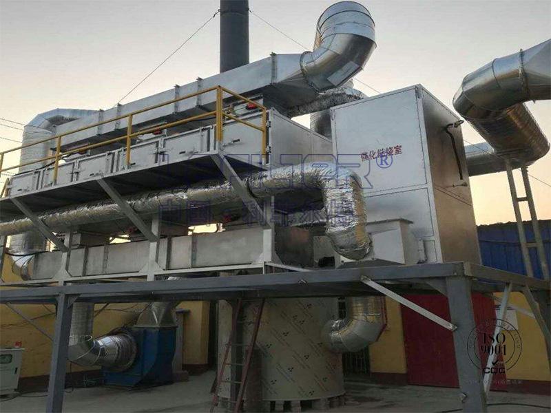 金属印刷废气处理催化燃烧设备