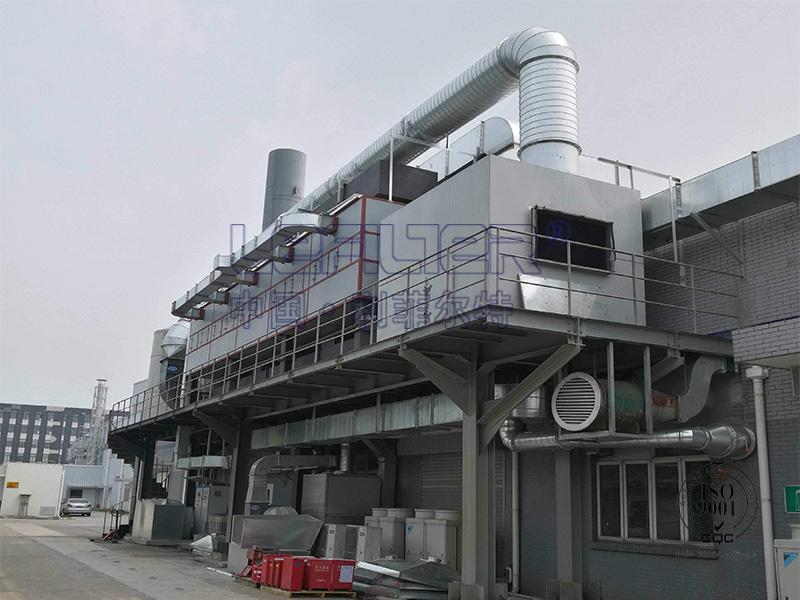 塑料制品厂VOC废气处理催化燃烧设备