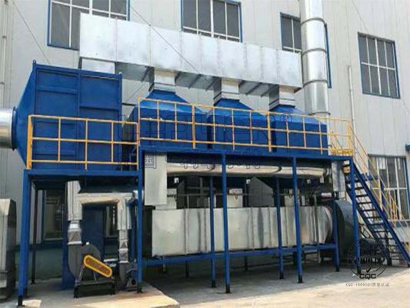 塑料厂废气处理催化燃烧设备