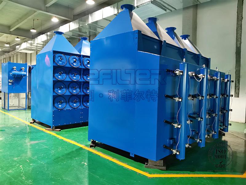 锂电行业滤筒除尘器