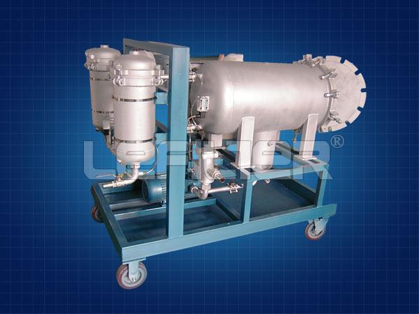 HLYC-100J高精度聚结脱水滤油机