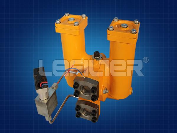 替代SPL系列双筒润滑油过滤器