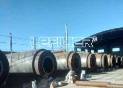 内蒙古地区年处理量10万吨废轮胎炼油项目