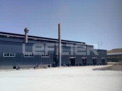 宁夏中卫5万吨废旧轮胎处理项目现场