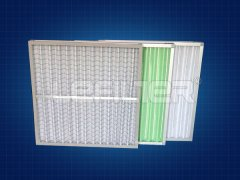 板式可清洗过滤器495*495*46覆网式G4效率