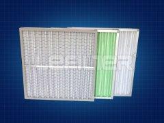 板式可清洗过滤器295*595*46覆网式G4效率